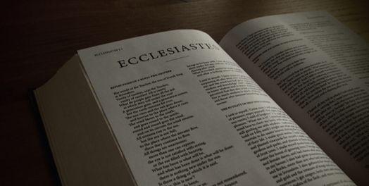 Eclesiastés Y El Trabajo Comentario Bíblico Proyecto
